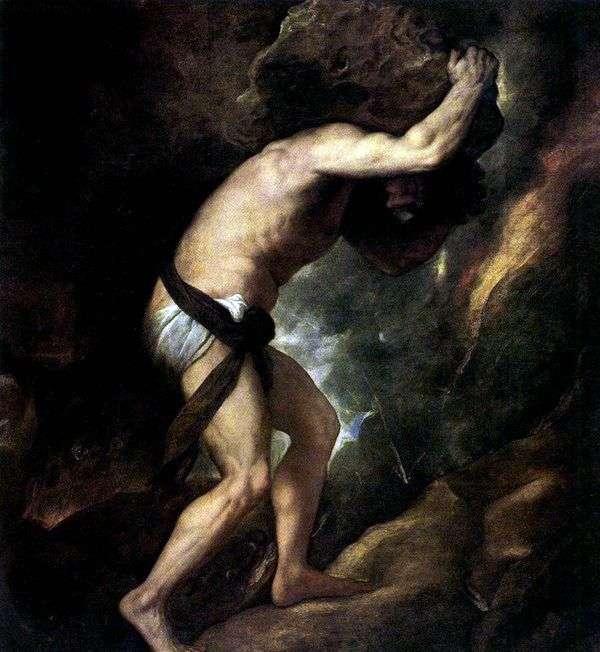 シーシュポス   Titian Vecellio