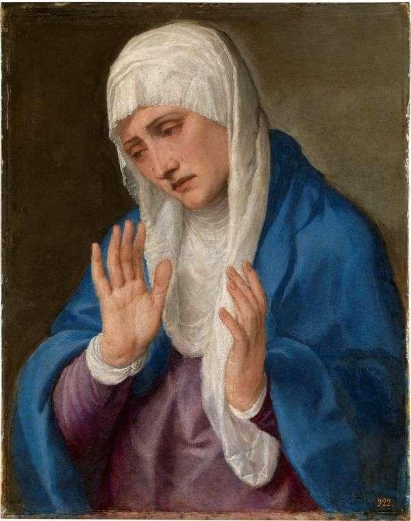 悲しみの母   ティティアン・ヴェセリオ