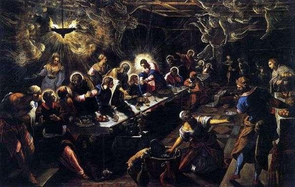 最後の晩餐   Jacopo Tintoretto