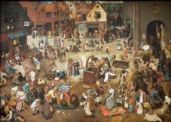 マスレニツァと断食の戦い   Pieter Bruegel