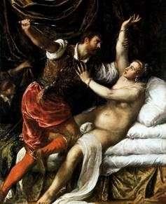 Tarquinius and Lucretia   ティティアンベセリオ