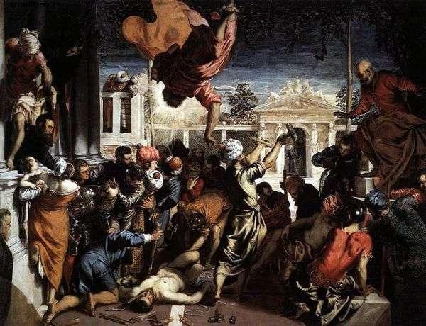 聖マルコの奇跡   ヤコポティントレット