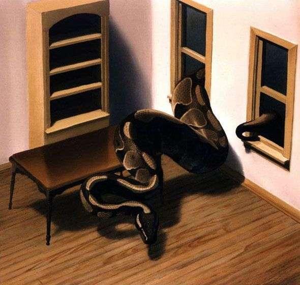 ヘビ   Gerhard Richter