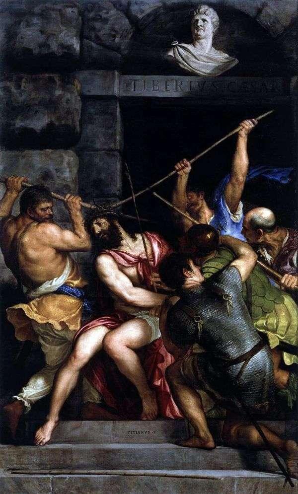 いばらの冠を冠する   Titian Vechelio
