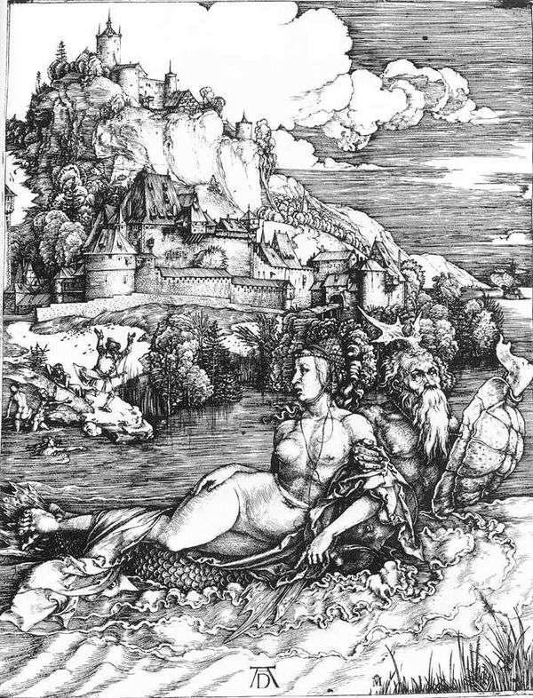 海の怪物   アルブレヒトデューラー