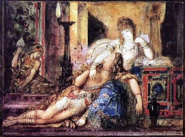 Samson and Delilah   ギュスターヴ・モロー