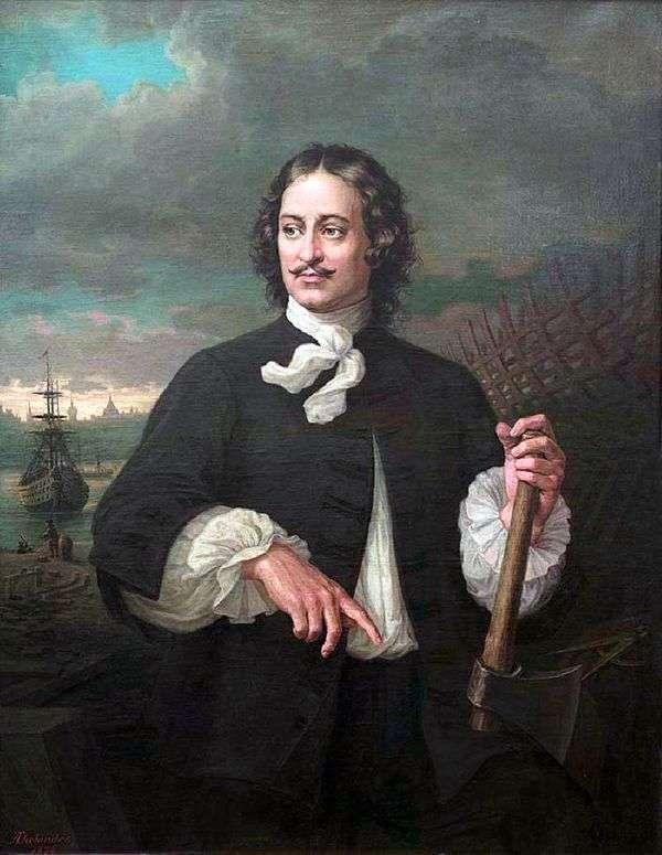 Peter I   Augustus Tolyanderの肖像