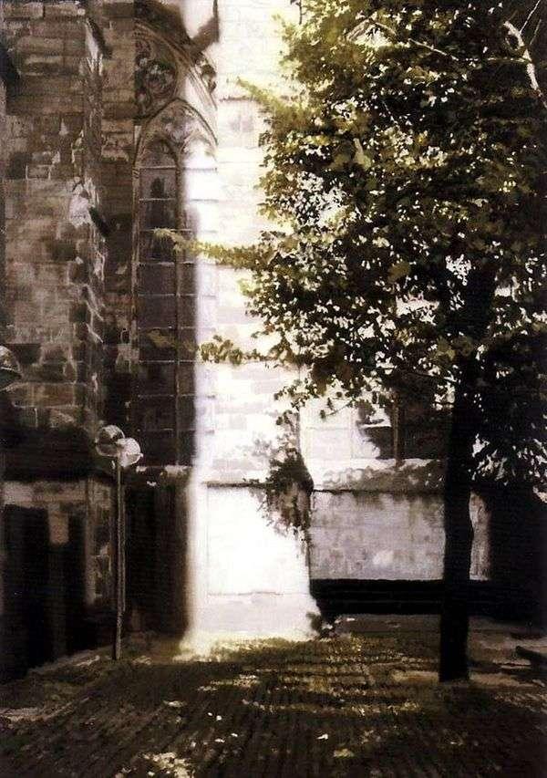 大聖堂の角   ゲルハルト・リヒター