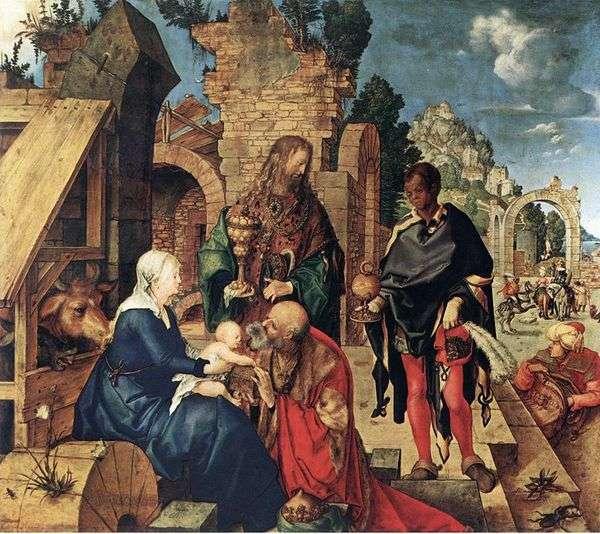 マギの崇拝   AlbrechtDürer