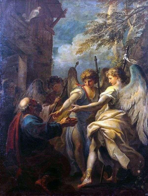 アブラハムと三人の天使   Sebastiano Ricci