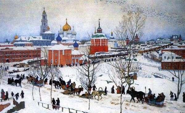 冬のトリニティ修道院   コンスタンティン・ユオン