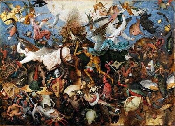 堕天使たちの追放   Peter Bruegel