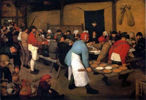 農民の結婚式   Peter Bruegel