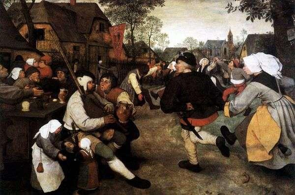 農民のダンス   Peter Bruegel