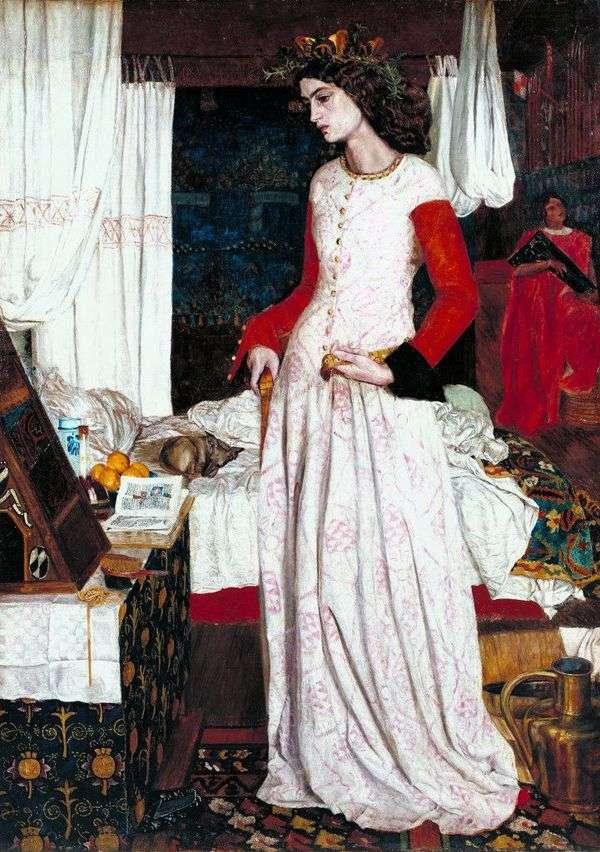 美しいイゾルデ   William Morris