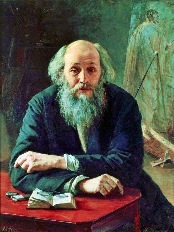 アーティストGeの肖像   Nikolay Yaroshenko