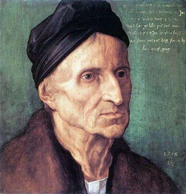 Michael Wolgemut   Albrecht Durerの肖像