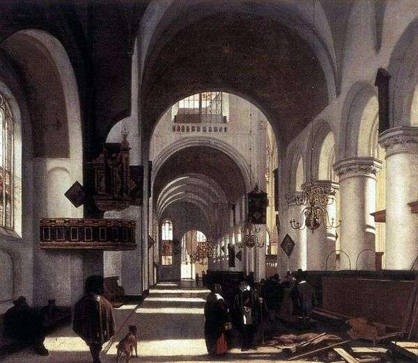 教会の内部   エマニュエルデヴィッテ