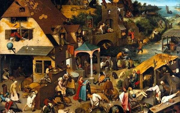 オランダのことわざ   Peter Bruegel