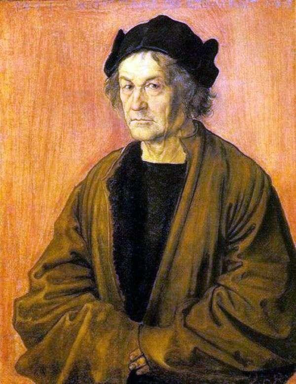 70歳の父の肖像   Albrecht Durer