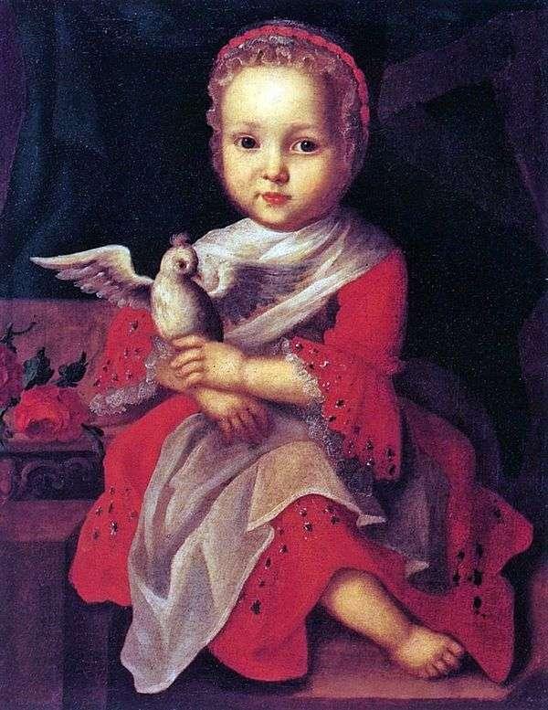 鳥を持つ少女   Ivan Vishnyakov