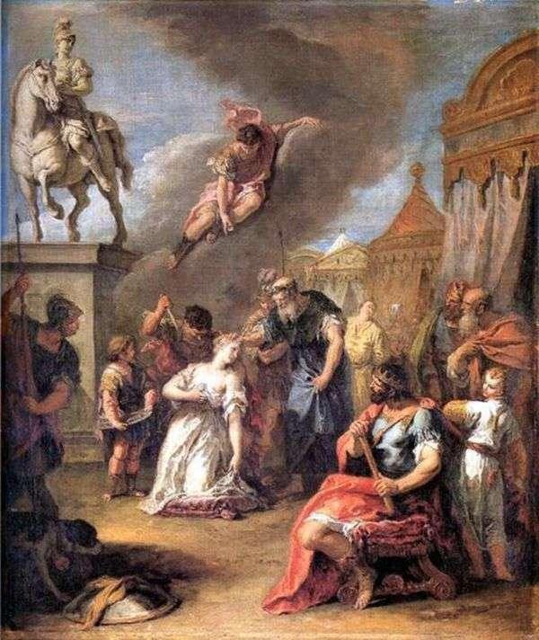 ポリッシーを生け贄に捧げる   Sebastiano Ricci