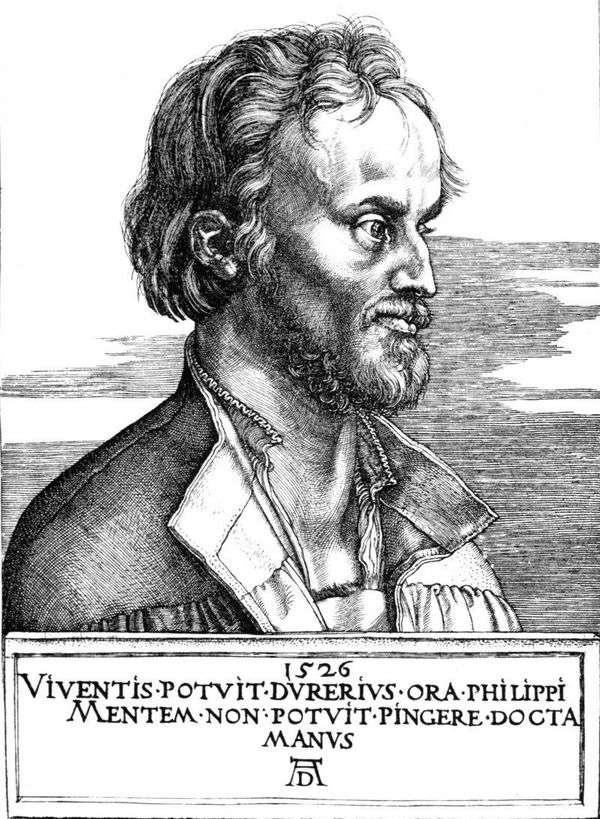 Philip Melanchthon   Albrecht Durerの肖像