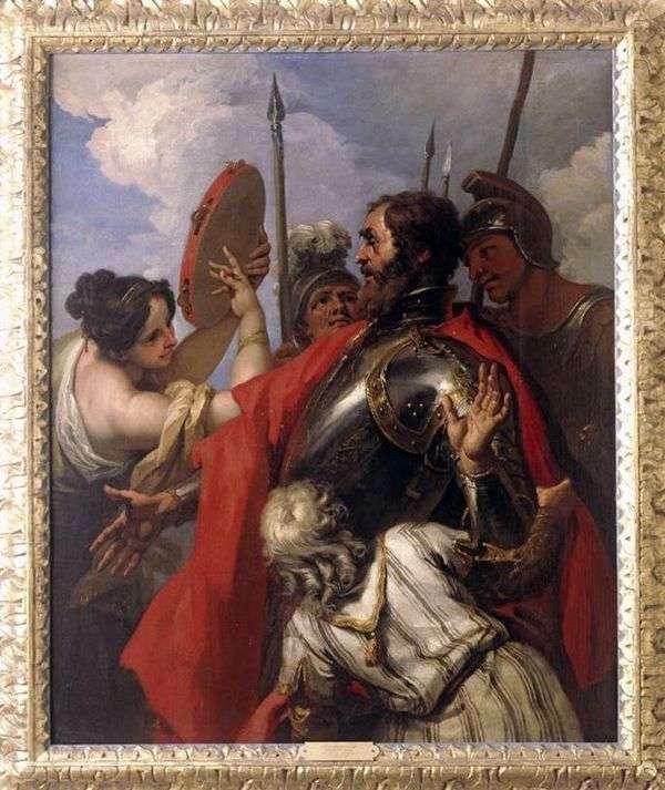 Jephthahと彼の娘   Sebastiano Ricci