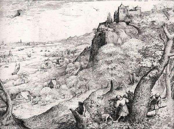 野ウサギ   Peter Bruegel