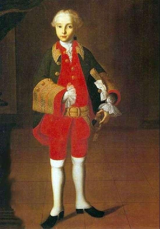 Wilhelm Georg Fermor   Ivan Vishnyakovの肖像画