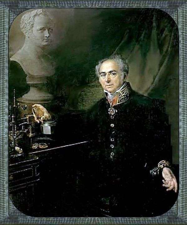 KA Leberekhta   Vasily Tropininの肖像画