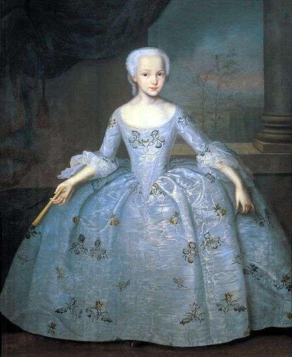 サラEleonora Fermor   Ivan Vishnyakovの肖像