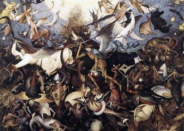 反乱軍の天使たちの秋   Peter Bruegel