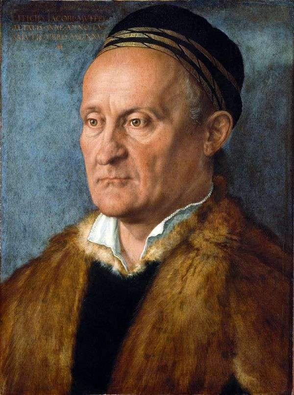 Jacob Muffel   Albrecht Durerの肖像