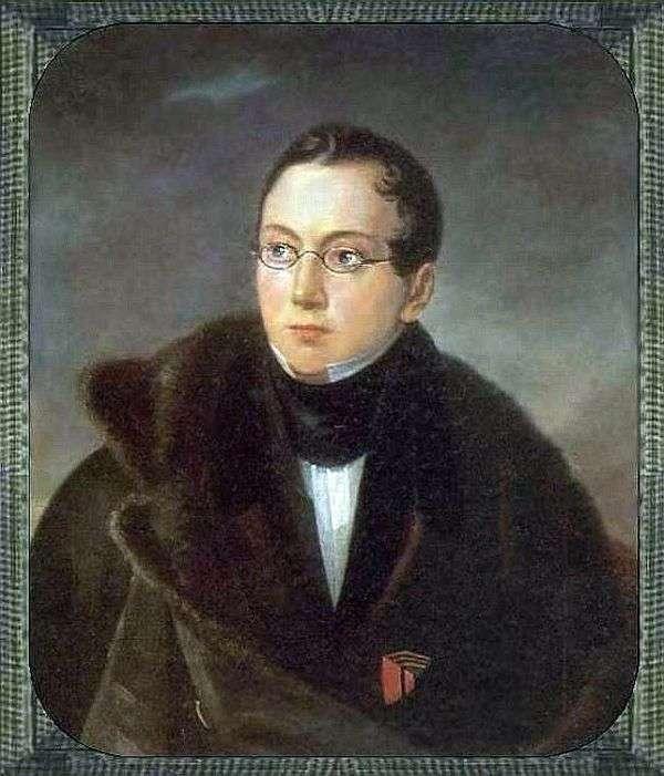 A. V. Vsevolozhsky   Vasily Tropininの肖像画