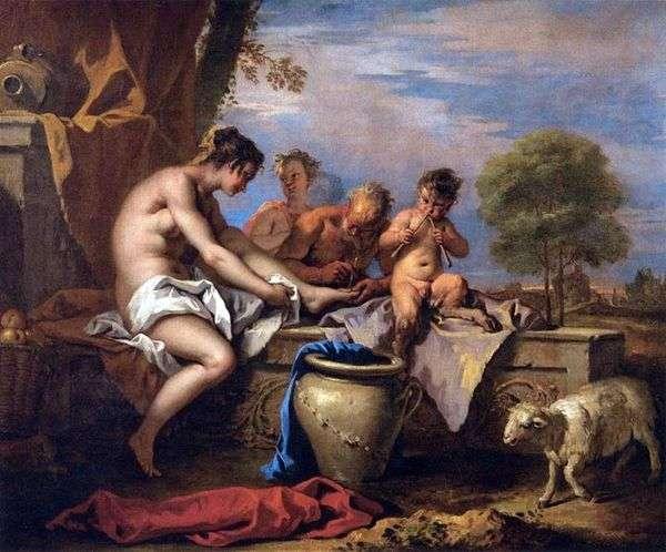 ニンフと風刺   Sebastiano Ricci