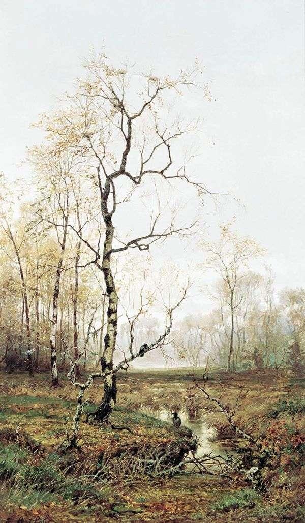 森の中 春に   Efim Volkov