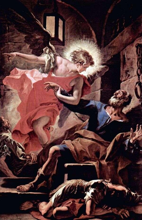 天使による使徒ペテロの解放   Sebastiano Ricci