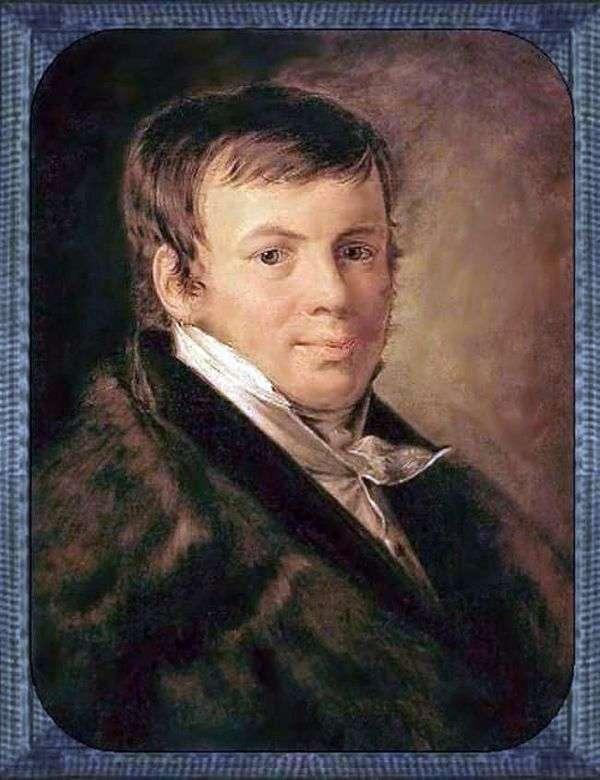 Vs. Enev   Vasily Tropininの肖像画