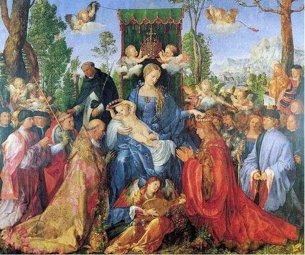 ロザリオの饗宴   AlbrechtDürer