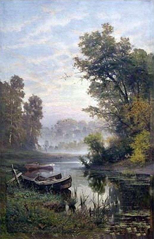 霧の朝   Efim Volkov