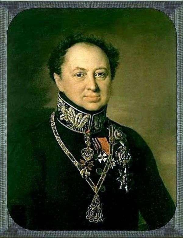 D. P. Tatishchev   Vasily Tropininの肖像画