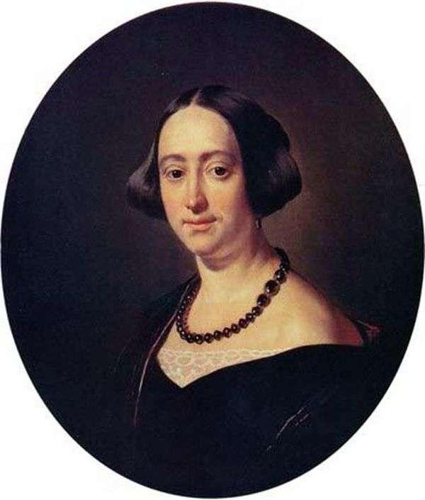 E. V. Mazurina   Vasily Tropininの肖像画