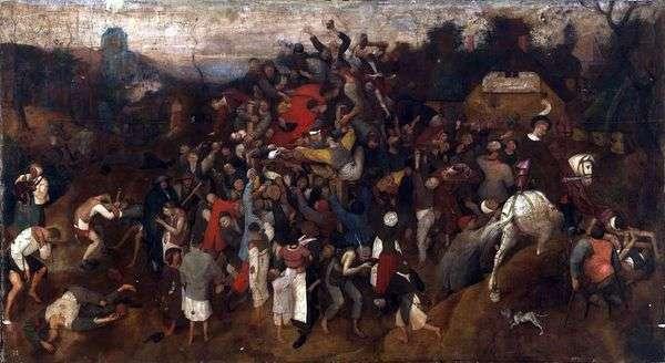 聖マルティンの饗宴   Peter Bruegel