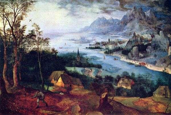 種まきの寓話   Peter Bruegel