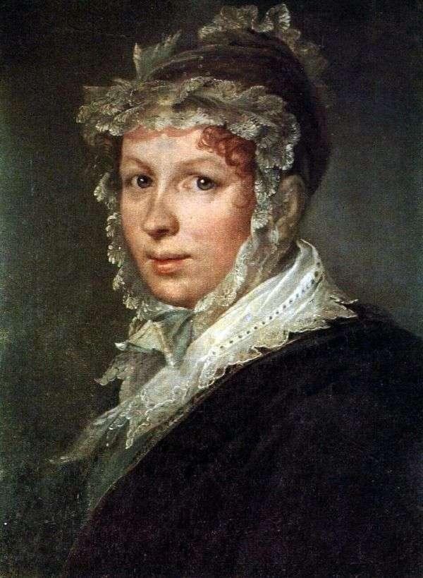 アーティストの妻   ヴァシリー・トロピニンの肖像