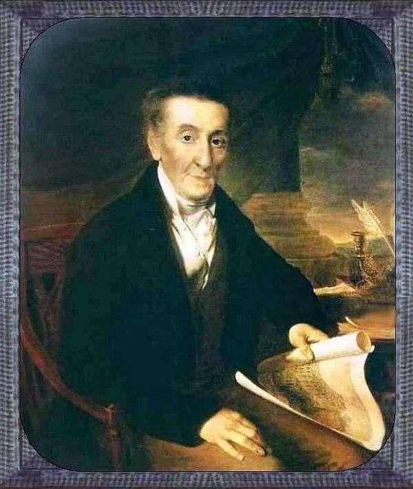Joachim Lazarevich Lazarev   Vasily Tropininの肖像画