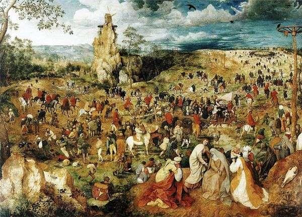 カルバリーへの道   Peter Bruegel
