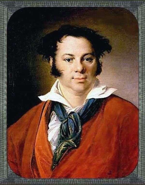 KG Ravych   Vasily Tropininの肖像画