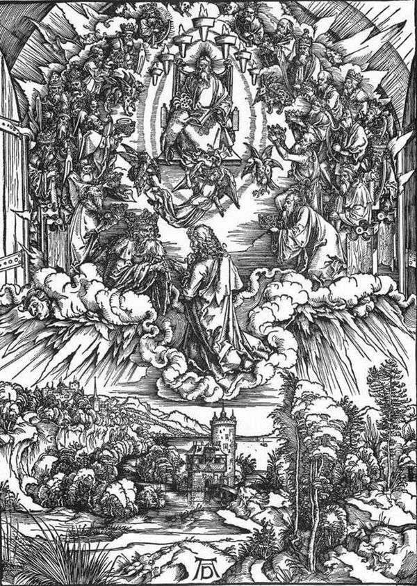 セントジョンと二十四長老   Albrecht Durer